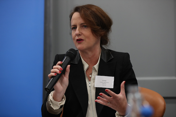 Liz Pope, CEO, Property Registration Authority